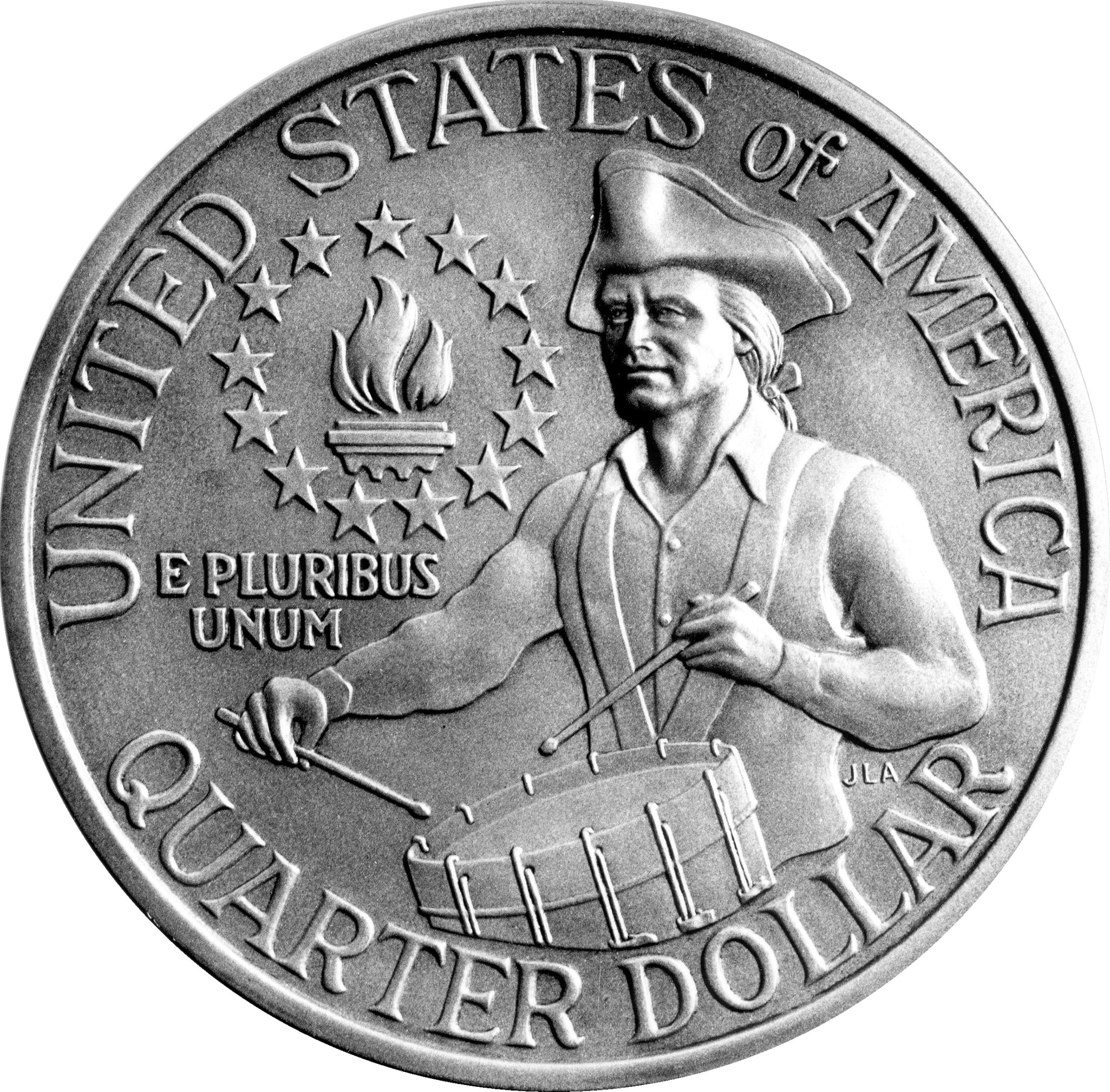 Old Quarter Dollar Coins http://thecoinologist.com/2008/05/25/flashback-to-1975-76/