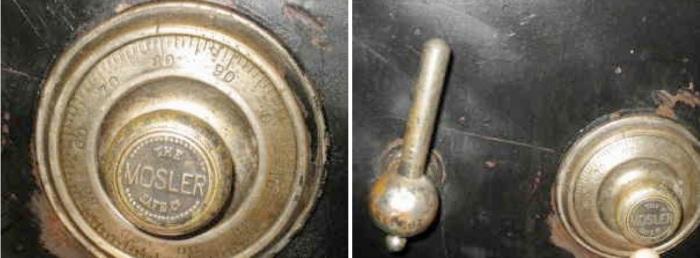 Safe Find-Antique Mosler Safe | The|Coinologist