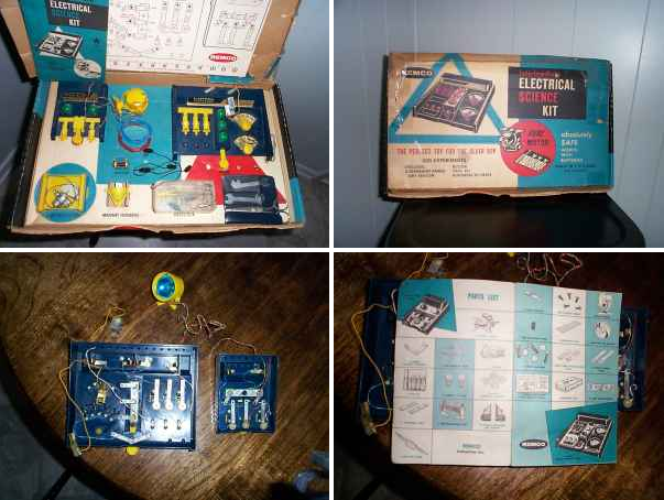 1950 S Remco Electric Science Kit The Coinologist
