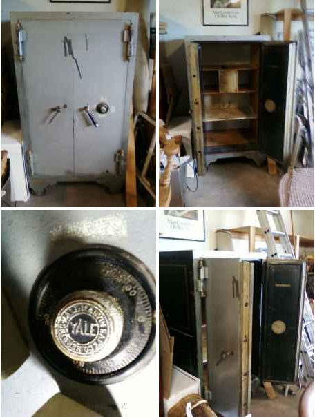 Safe Find 1905 Herring Hall Marvin Antique Safe The