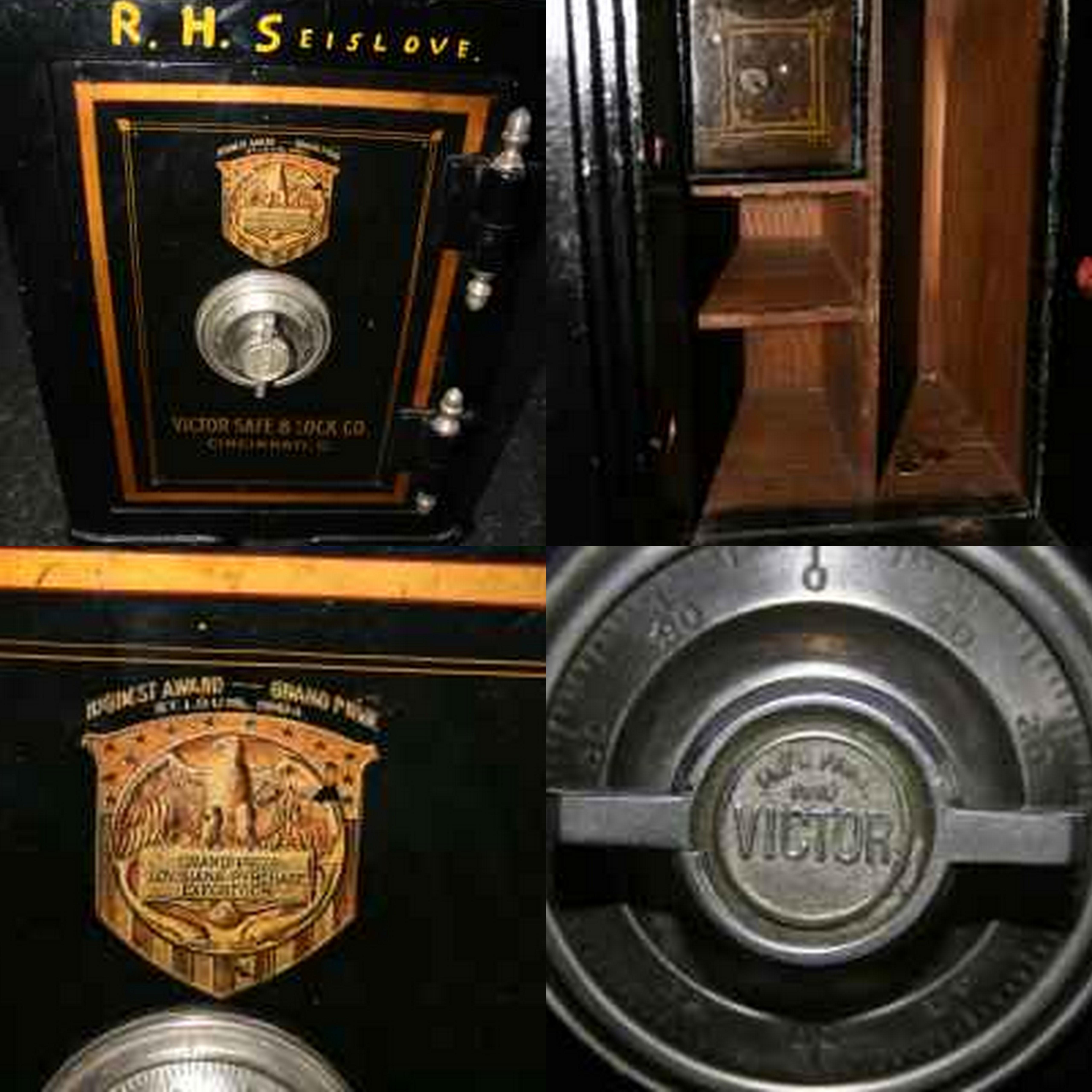Safe Find Antique Victor Safe The Coinologist