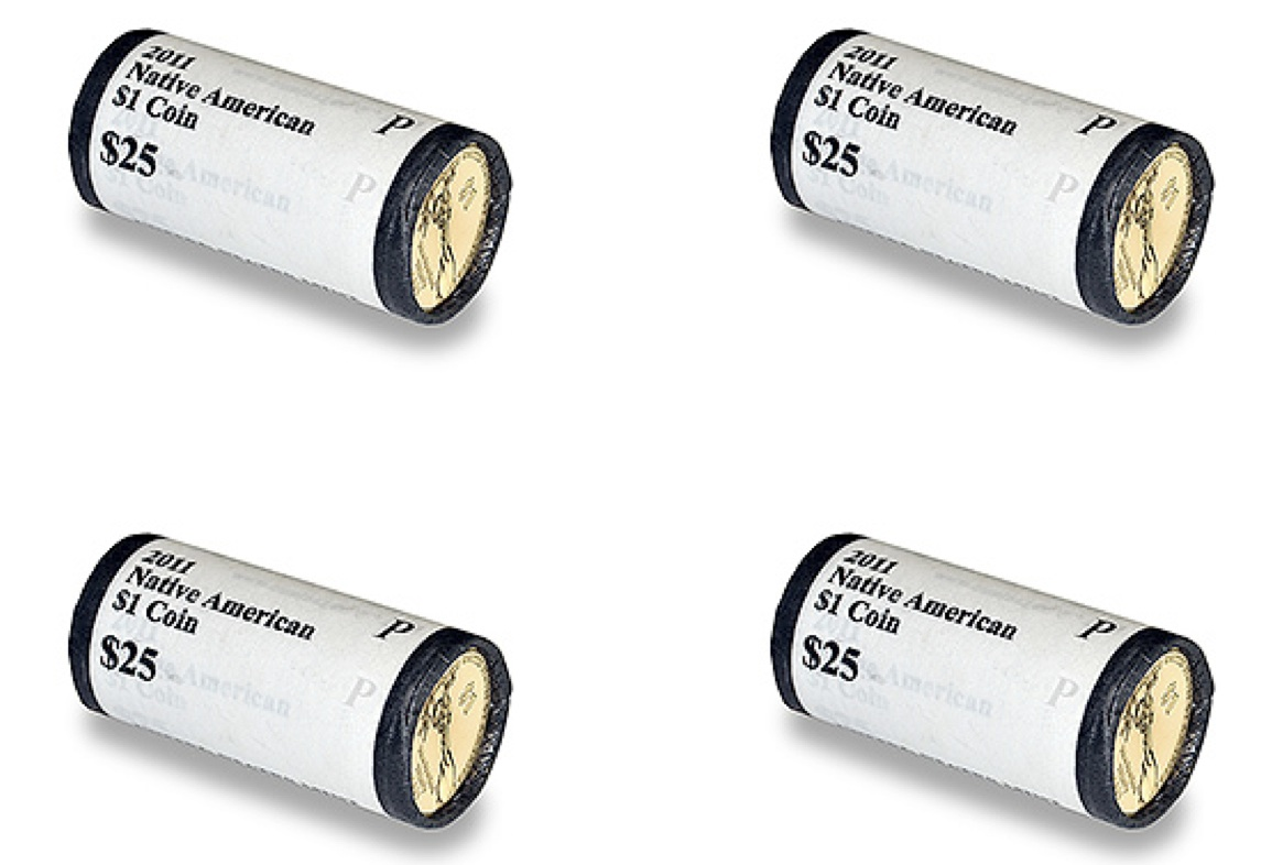 2011 Native American 1 Coin Rolls The Coinologist