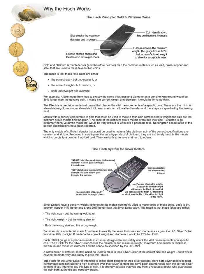 The Fisch | Detects Fake Gold & Silver Coins | The|Coinologist