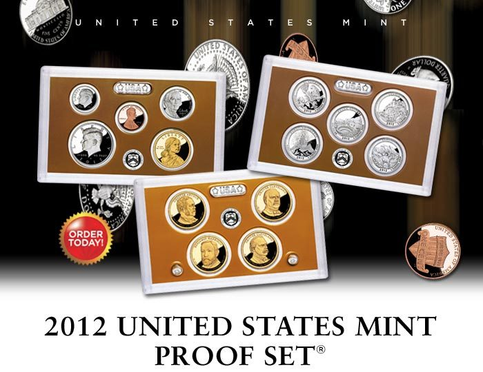 2012 United States Mint Proof Set The Coinologist