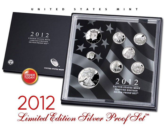 2012 Limited Edition Silver Proof Set The Coinologist