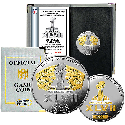 Super Bowl XLVII Coin Toss