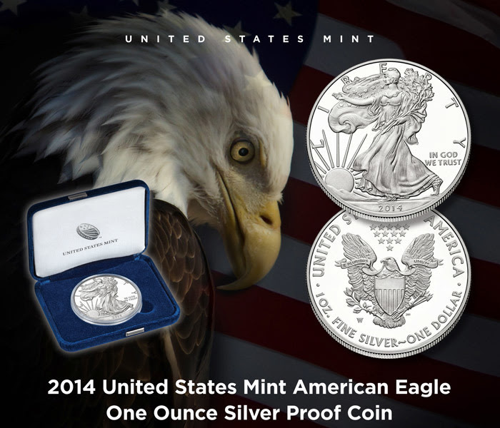 2014 United States Mint American Eagle One Ounce Silver