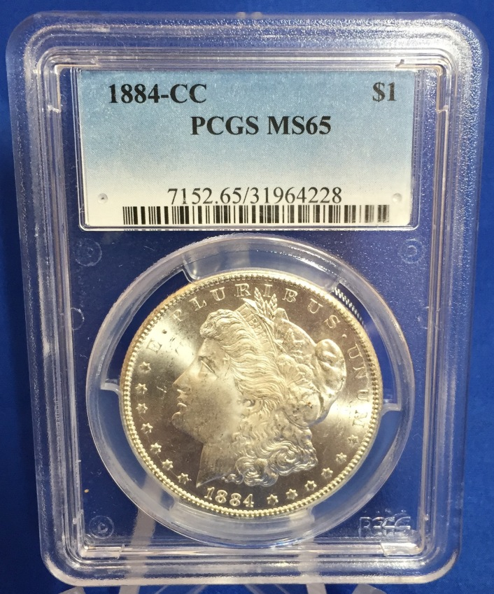 1884 Carson City Morgan Dollar MS65_2